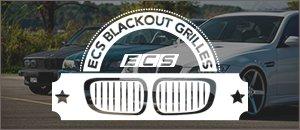ECS Blackout Grilles | BMW E46 3 Series Sedan/Touring