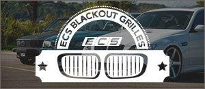 ECS Blackout Grilles | BMW E39 5 Series