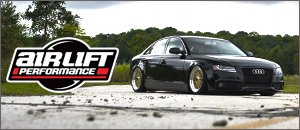 Audi B8 A4 Airlift Suspension