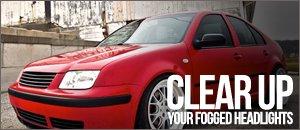 VW MK4 Jetta Faded Headlight Fix