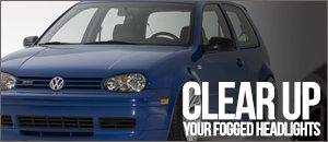 VW MK4 Golf Faded Headlight Fix