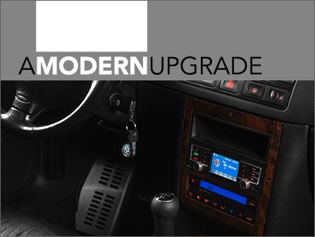 ECS News - New Radio Upgrade For Your VW MK4 &
