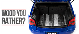 New ECS Wood Trunk Floors For Your MK4 VW
