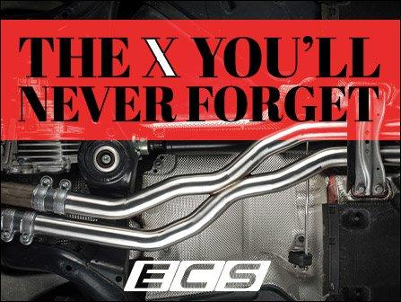 ECS News - ECS Center X-Pipe for your Audi RS5