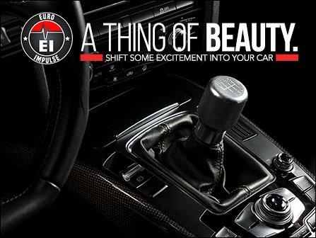 ECS News - Euro Impulse Weighted 6-speed Shift Knobs   VW/Audi