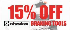 15% OFF Schwaben Braking Tools