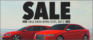 VW/Audi Spring Sale Event