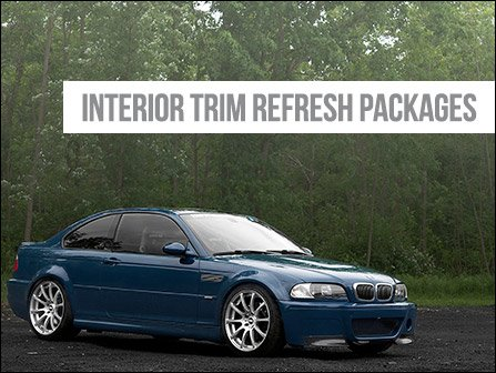 ECS News - BMW E46 Interior Trim Refresh Packages