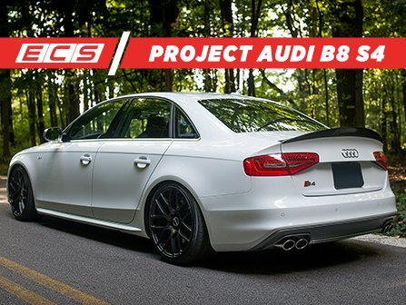 ecs news ecs project audi b8 s4 build list. Black Bedroom Furniture Sets. Home Design Ideas