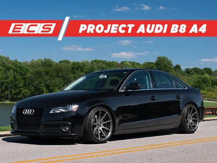 Ecs Project Audi B8 A4 Build List