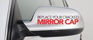 ECS Matte Chrome Mirror Cap Set