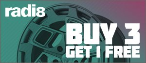 Radi8 Summer Sale | Buy 3 Get 1 Free | 5X112 VW/Audi