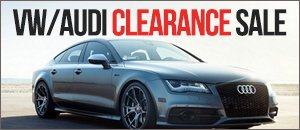 VW/Audi Clearance Sale! While Supplies Last!