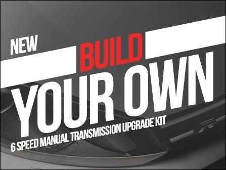 ECS News BuildYourOwn Manual Transmission Upgrade Kit VWAudi - Audi build your own