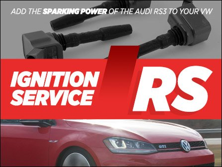 ECS News - RS3 Ignition Coil Kits for VW 1 8 / 2 0T Gen3 Engines