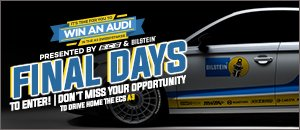 Final Days! ECS Tuning & BILSTEIN Audi A3 Sweepstakes