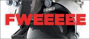 New ECS Turbo Muffler Delete Pipe Kit for your 2.0T FSI