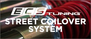 New ECS Street Coilover System for your BMW