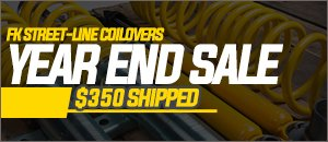 ON SALE! | FK Street-Line Coilover Kit For you MK4