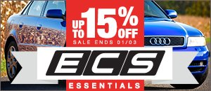 15% off Audi B5 S4 ECS Essentials
