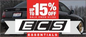 15% off Audi B5 A4 1.8T ECS Essentials
