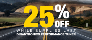 25% off DINANTRONICS Sport Performance Tuner VW/Audi