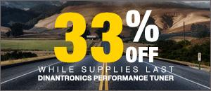 33% off DINANTRONICS Sport Performance Tuner VW/Audi