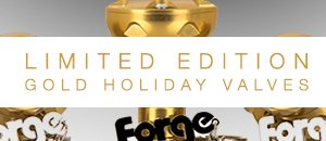 Forge Limited Edition Gold Diverter Valve - VW/Audi