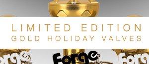 Forge Limited Edition Gold Diverter Valves - MINI