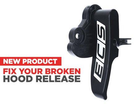 ECS News - Audi B6/B7 Billet Interior Hood Release Lever