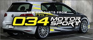 New 034Motorsport Products for your Audi or VW