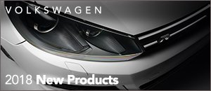 2018 New Products for your Volkswagen