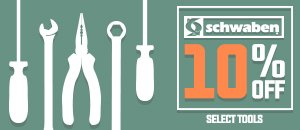 10% Off Specialty Tools from Schwaben