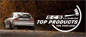 Top ECS Products for your Audi B8 S4 3.0T