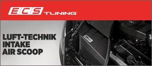 ECS Luft-Technik Intake Air Scoop   Audi B8 Chassis