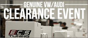 Select Genuine VW/Audi Parts Up to 78% Off MSRP
