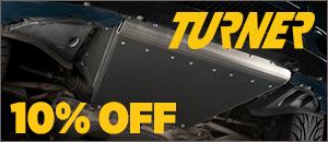 10% Off - Turner BMW E46 M3 Aluminum Skid Plate
