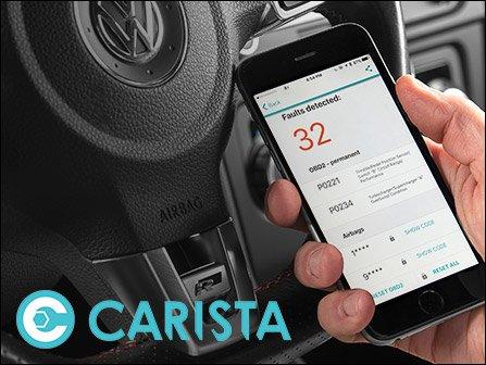 ECS News - Carista OBD2 Dongle - VW/Audi