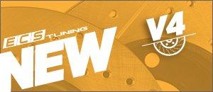 NEW ECS V4 Rotors for your VW B6 Passat and CC