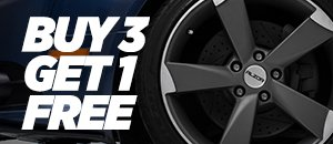 Alzor wheels Buy 3 get one free on select styles