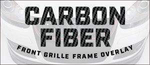 New! Carbon Fiber Front Grille Frame