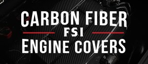 New ECS Carbon Fiber FSI Engine Covers