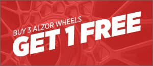 Get 1 Free When you Buy 3 Alzor Wheels! - 5x112