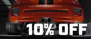 Milltek Sport Exhaust Systems | MINI Cooper