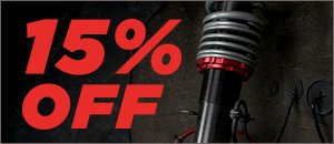 ECS Coilovers Back in Stock and 15% Off