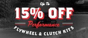 Up to 15% Off Performance Clutch Kits for your BMW