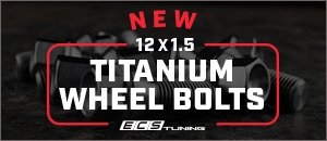 New 12x1.5 ECS Titanium Wheel Bolts for your BMW