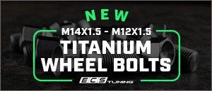 ECS Titanium Wheel Bolts for your VW