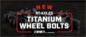 M14x1.25 ECS Titanium Wheel Bolts for your MINI