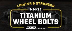 ECS Titanium Wheel Bolts for your Audi